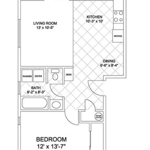 One Bedroom (Cascade Ridge II)
