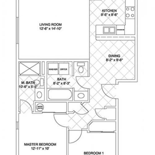 Two Bedroom (Cascade Ridge)