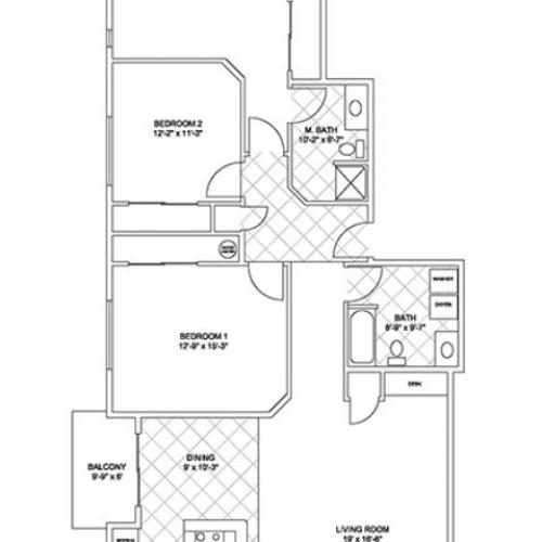 Luxury Three Bedroom, Two Bath (Cascade Ridge)