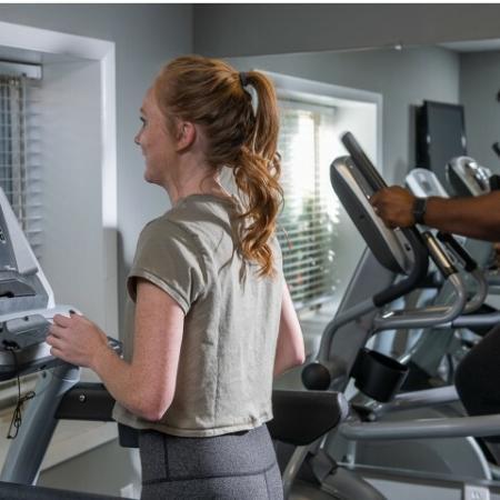 Resident Fitness Center   Eagles West   Apartments Near Auburn University