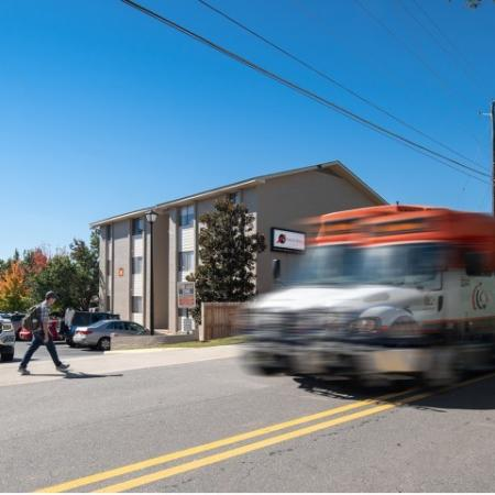 Two Tiger Transit Stops   Eagles West   Auburn Student Apartments
