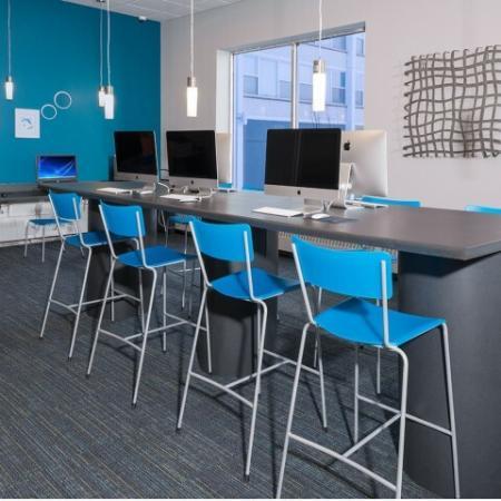 Resident Computer Lab | University Plaza  | Northern Illinois University Apartments