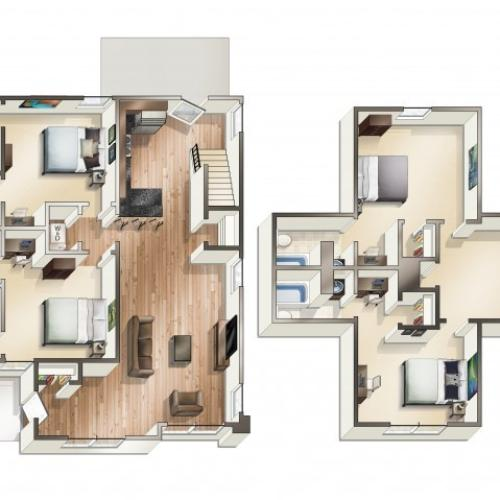 D1 - 4 Bedroom Cottage