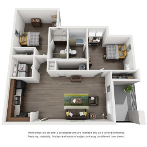 B2 2 Bedroom
