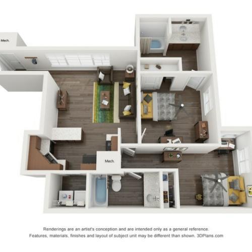 B4 2 Bedroom