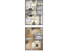 B1 Floor Plan | 2 Bedroom Floor Plan | University Village | Apartments In Carbondale IL