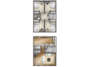 D1 Floor Plan | 4 Bdrm Floor Plan | University Village | Apartments In Carbondale IL Near SIU