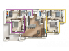 2 Bedroom Apartment with 2 Bonus Rooms