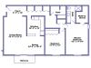 Woodville floor plan 2D