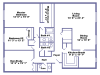 Chesterfield floor plan 2D