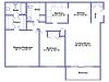 Hudson floor plan 2D