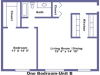 Trafalgar floorplan 2D
