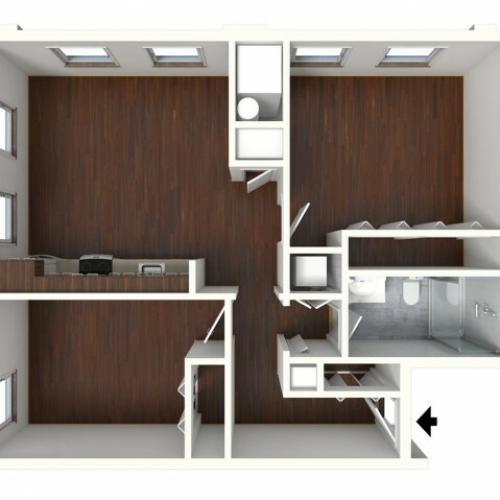 Floor Plan 8 | Apartments Near Toughkenamon PA | Magnolia Place