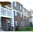 Oak Tree Residential Building Side View | Newark Apartments DE