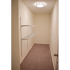 Willow Ridge Village Sample Closet with Ample Space and Beige Carpeting | Apartments In Marlton NJ