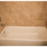 Willow Ridge Village Sample Bathroom with Beige Shower Tile | Apartments In Marlton NJ