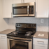 Willow Ridge Village Sample Kitchen with Subway Tile and Stainless Steel Appliances | Apartments In Marlton NJ
