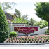 Newport Village Red Community Sign with Flowers | Levittown PA Apartments