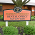 Princeton Orchards Orange Leasing Center Sign | Apartments for Rent in South Brunswick, NJ