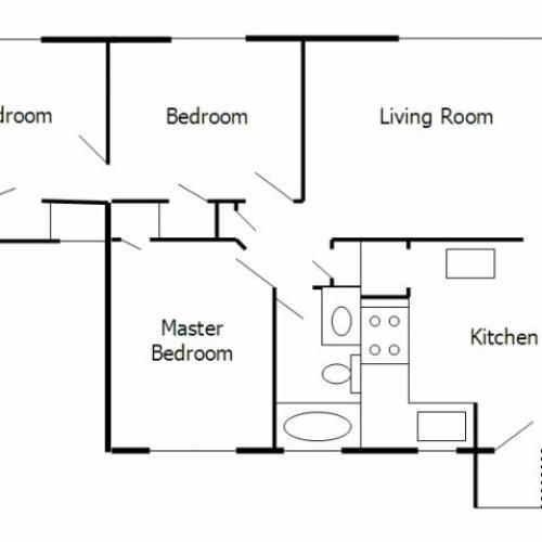 1 Bed / 1 Bath Apartment In Richmond VA