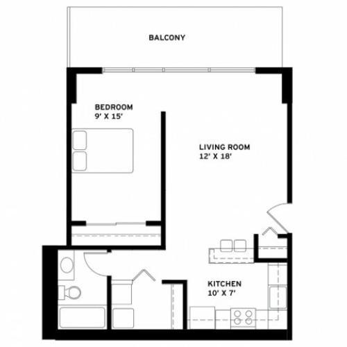 Convertible Floor Plan K