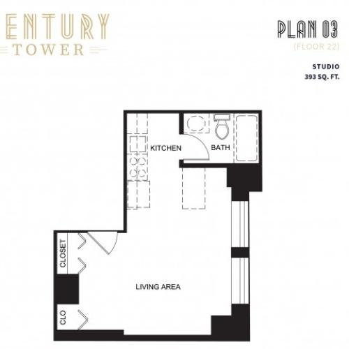 Studio Plan 3