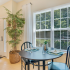 Sun-filled Dining Area | Deacon's Station Apartments | 4 Bedroom Apartments In Winston-Salem, NC