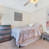 Tastefully Decorated, Roomy Bedroom | Deacon's Station Apartments | Wake Forest Off-Campus Housing