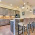 Dining with Seating, Plus Food Prep and Storage Area in Clubhouse at Deacon's Station Apartments