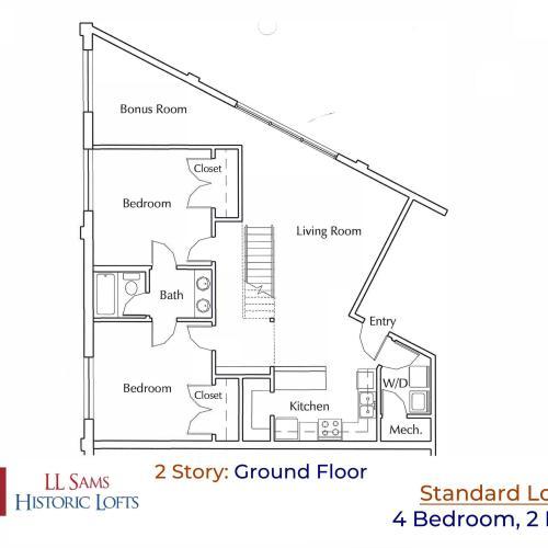 Standard 4-2 Ground Floor Plan