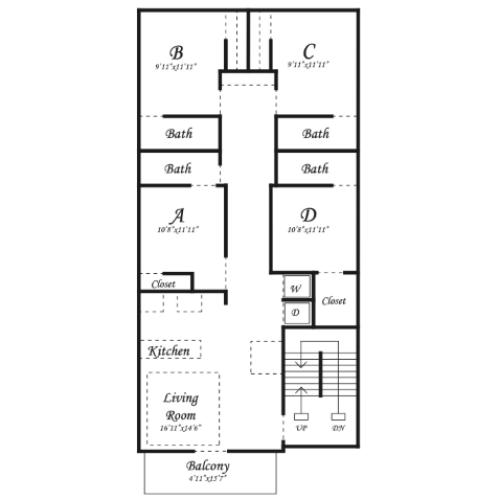 D1 Annex Floorplan