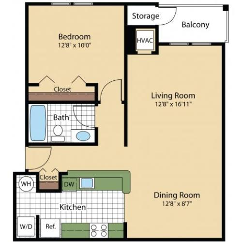 Floor Plan 2 | Reserve at Ballenger Creek