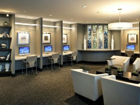Luxurious Living Room | Apartments In Arlington VA | Meridian at Pentagon City