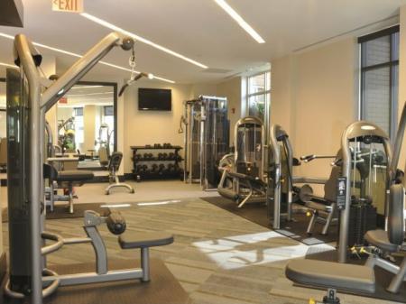 Cutting Edge Fitness Center | Arlington VA Apartments | Meridian at Pentagon City