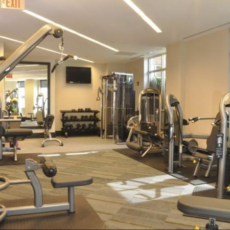 Cutting Edge Fitness Center | Arlington VA Apartments | Meridian at Pentagon City