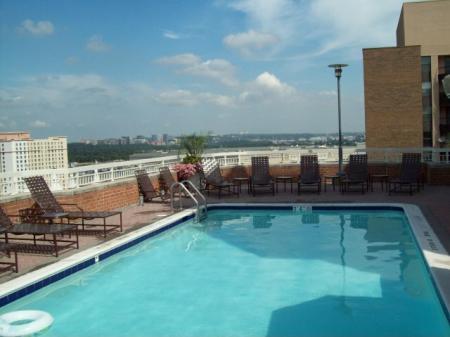 Swimming Pool | Apartments In Arlington VA | Meridian at Pentagon City
