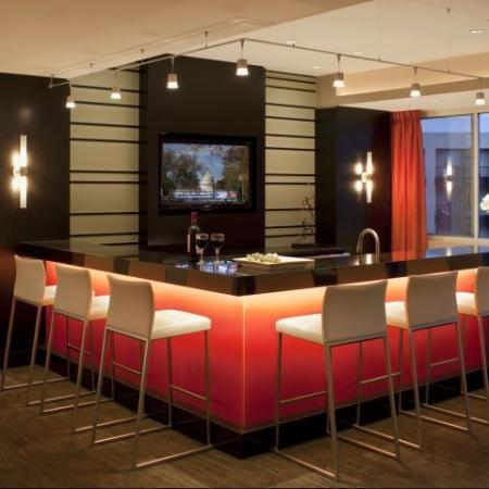 Spacious Community Club House | Meridian at Pentagon City