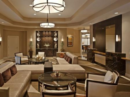 Spacious Resident Club House | Apartment in Arlington, VA | Meridian at Courthouse Commons