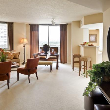 Studio Apartments Arlington VA | Meridian at Pentagon City 2
