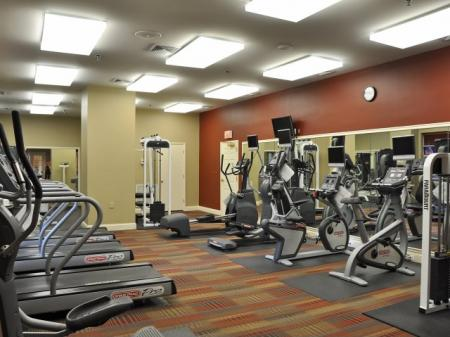 State-of-the-Art Fitness Center | Alexandria VA Luxury Apartments | Meridian at Carlyle