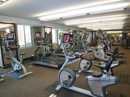 Cutting Edge Fitness Center | Apartments In Alexandria VA | Meridian at Eisenhower Station