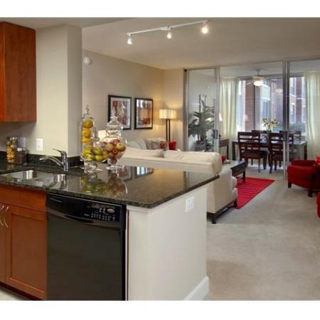 State-of-the-Art Kitchen | Apartments In Alexandria| Meridian at Eisenhower Station
