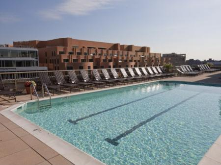 Swimming Pool | Apartment Homes in Washington, DC | Meridian at Gallery Place