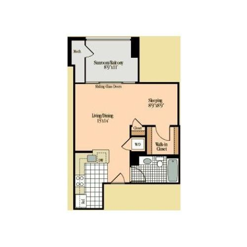Floor Plan 6 | Meridian at Braddock Station