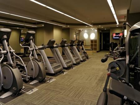 Cutting Edge Fitness Center | Bethesda Luxury Apartments | Meridian at Grosvenor Station