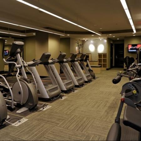 Cutting Edge Fitness Center | Bethesda Luxury Apartments | Meridian at Grosvenor Station