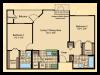 Floor Plan 5 | Apartments In Wayne NJ | Mountain View Crossing