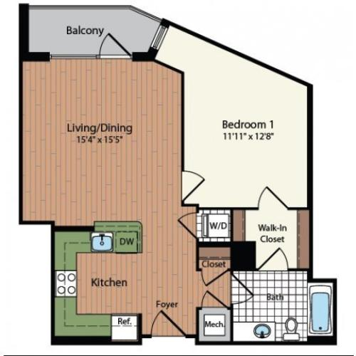 Floor Plan 7 | Meridian at Mt Vernon Triangle