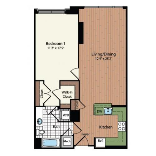 Floor Plan 5 | Meridian at Mt Vernon Triangle