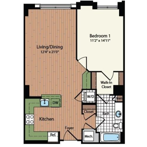 Floor Plan 12 | Meridian at Mt Vernon Triangle